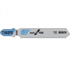 """סט להבים 57 מ""""מ Bosch INOX T118EFS"""