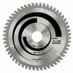 """להב וידיה רב שימושית 210 מ""""מ """"1/4 8 - 54 שיניים - Bosch"""