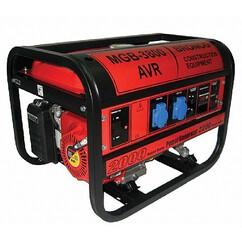 גנרטור AVR למאור וכח בעבודה ממושכת Bronco MGB3800