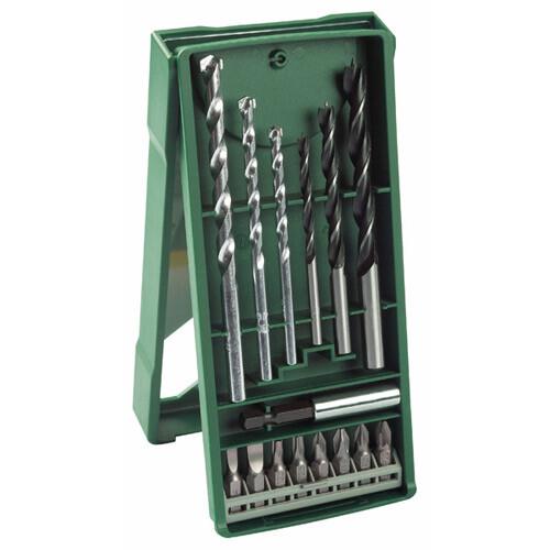סט ביטים ומקדחים 15 חלקים Bosch X-line