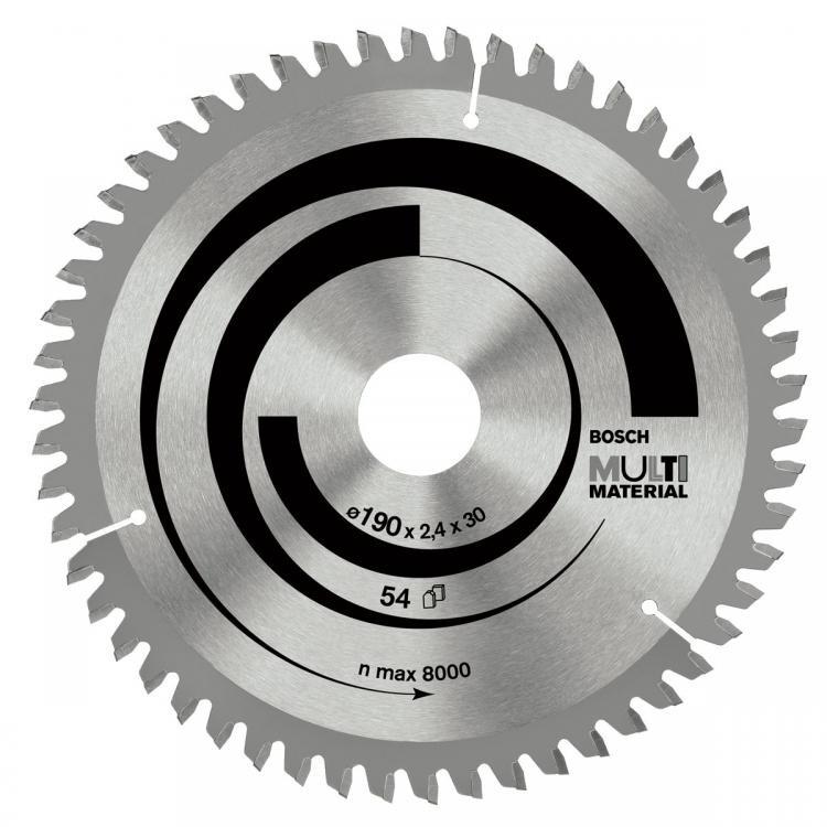 """להב וידיה רב שימושית 184 מ""""מ """"1/4 7 - 48 שיניים - Bosch"""