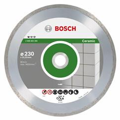 """דיסק יהלום למשחזת זווית לחיתוך קרמיקה """"9 230 מ""""מ Bosch"""