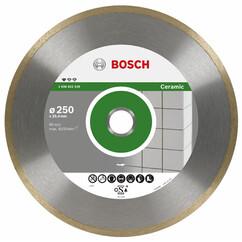 """דיסק יהלום לחיתוך קרמיקה ופורצלן 300 מ""""מ Bosch"""