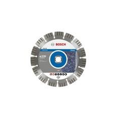 """דיסק יהלום למשחזת זווית לחיתוך אבן טבעית """"9 230 מ""""מ Bosch"""