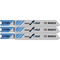 """סט להבים 50 מ""""מ Bosch U118A"""