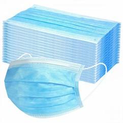 מסכות כירורגיות 3 שכבות PM 2.5 - חבילה 20 יחידות